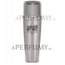 My Mic Silver Microfone Men