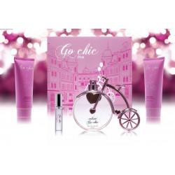 Morakot Go chic pink zestaw